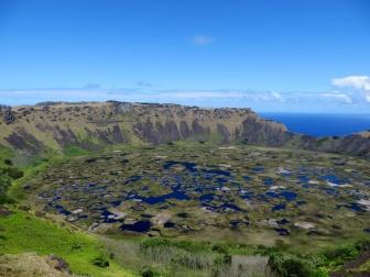 The Crater of Ranu Kao