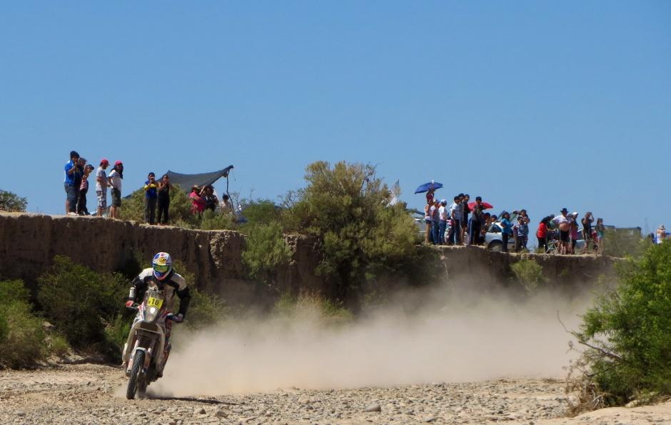 Dakar rider