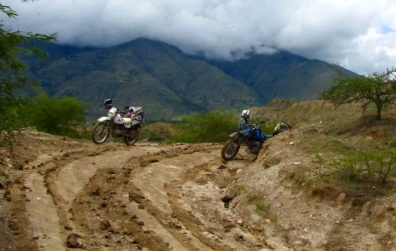 muddy hill