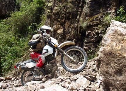 Into the Rockfall