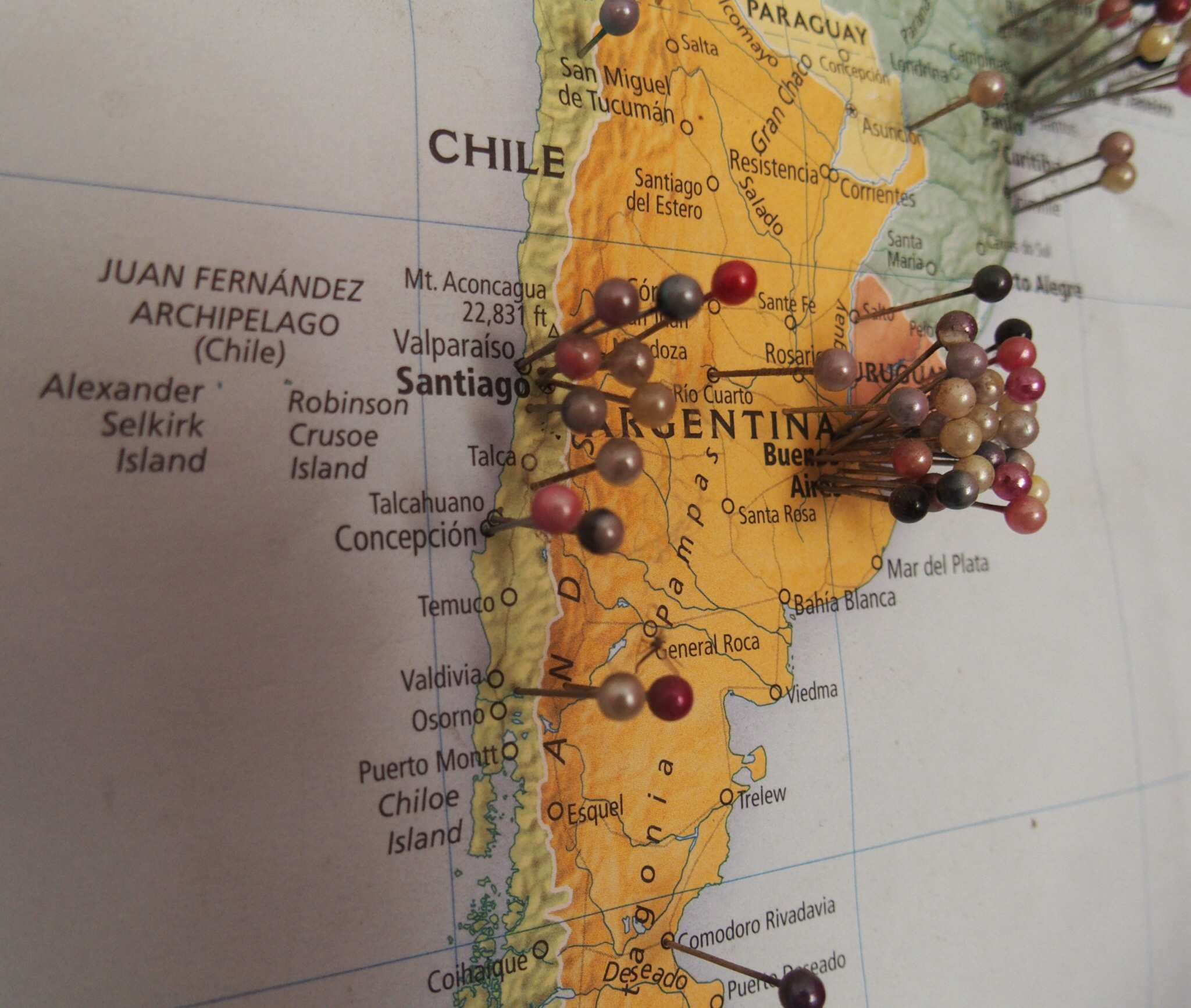 route map south america horcamoto