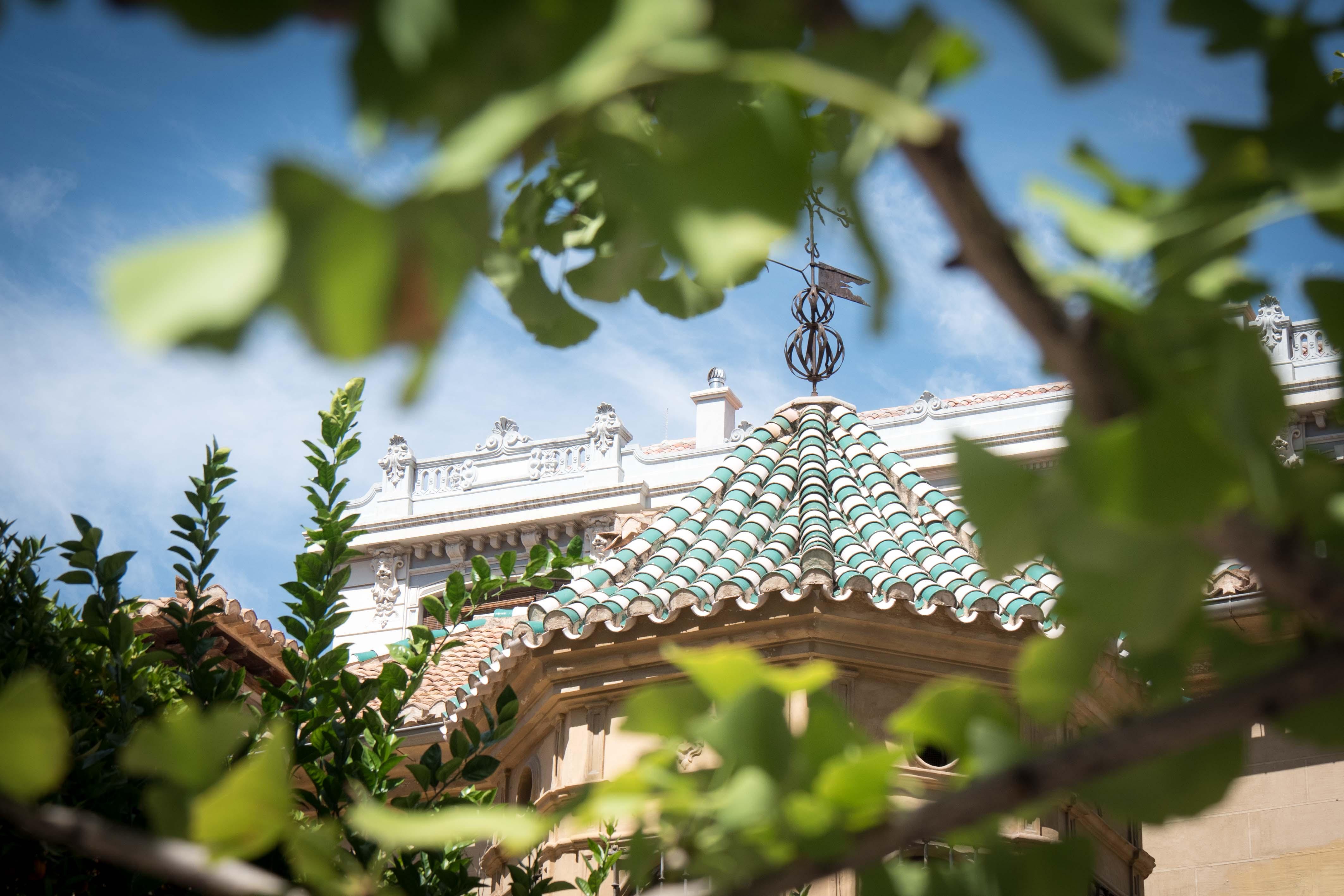 Roofs in Granada