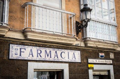 Farmacia, Cadiz